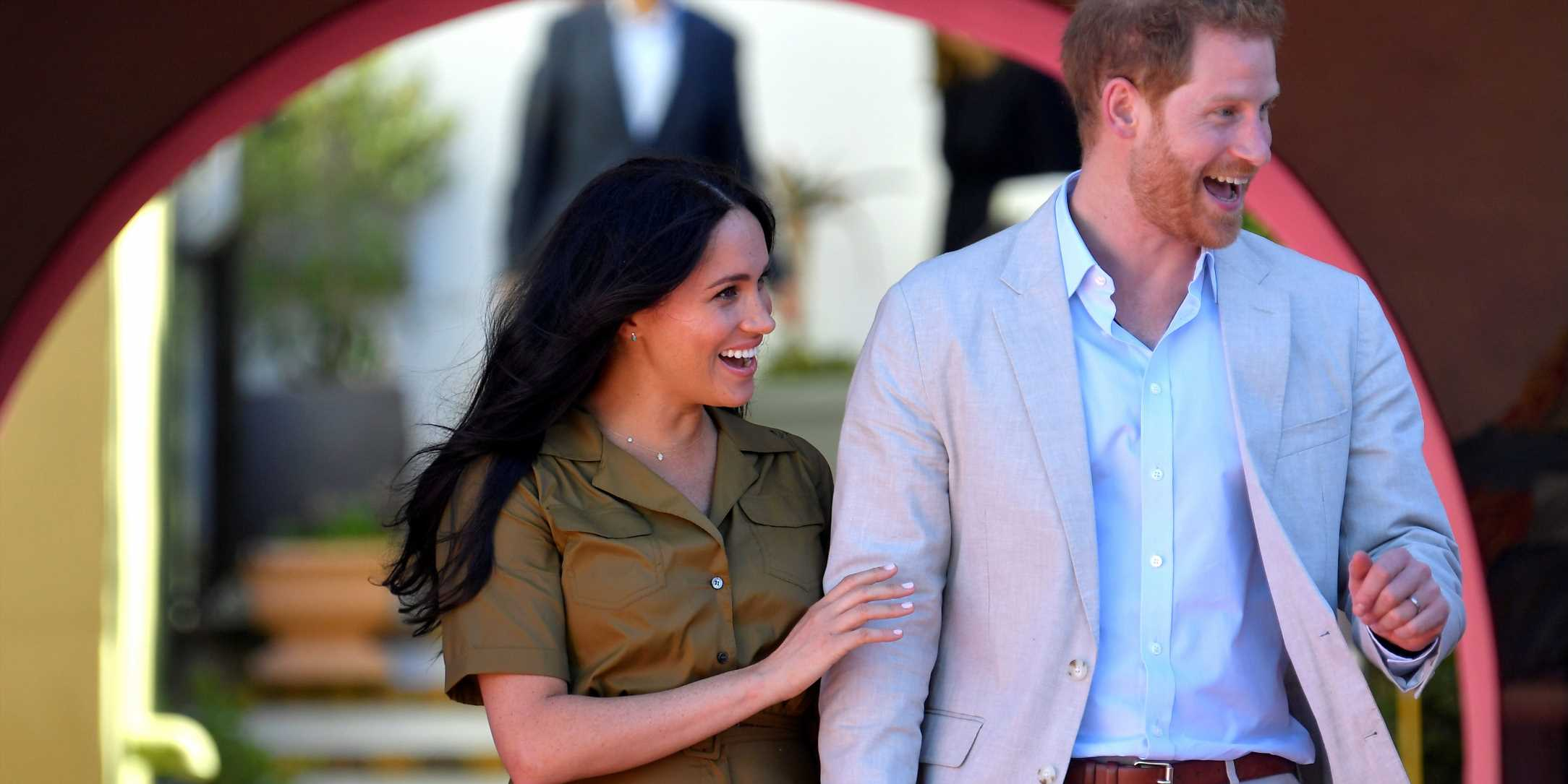 """Meghan Markle Says Her and Prince Harry's """"Plate Is Full"""" with Baby Archie"""
