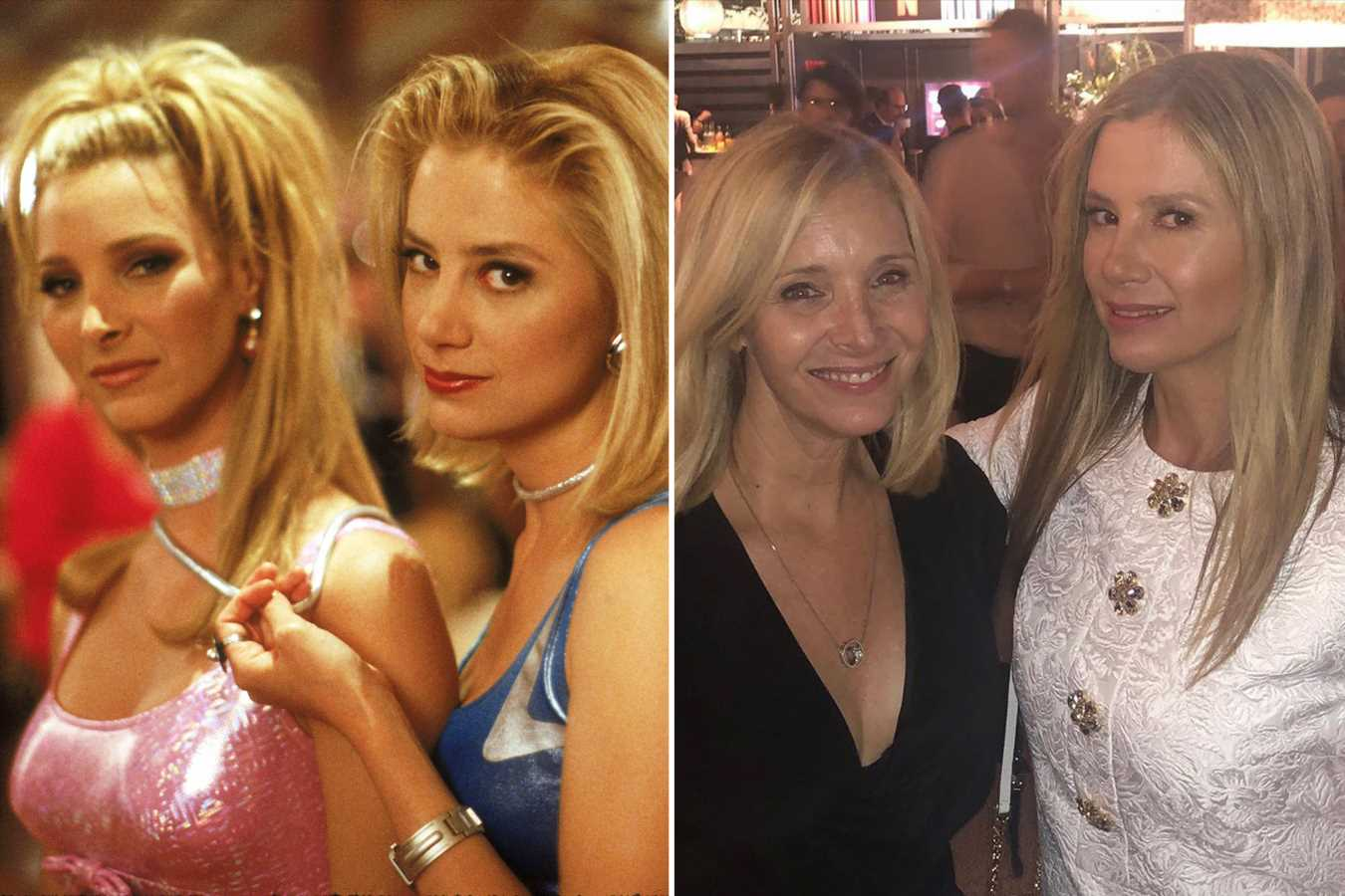 Romy and Michele Together Again! Lisa Kudrow and Mira Sorvino Reunite 22 Years After Hit Movie