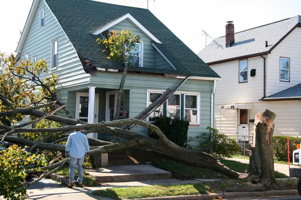 How much the average homeowner spends to fix weather-related damage