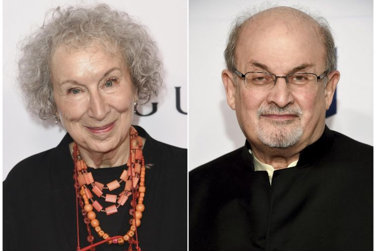 Atwood, Rushdie among Booker Prize finalists
