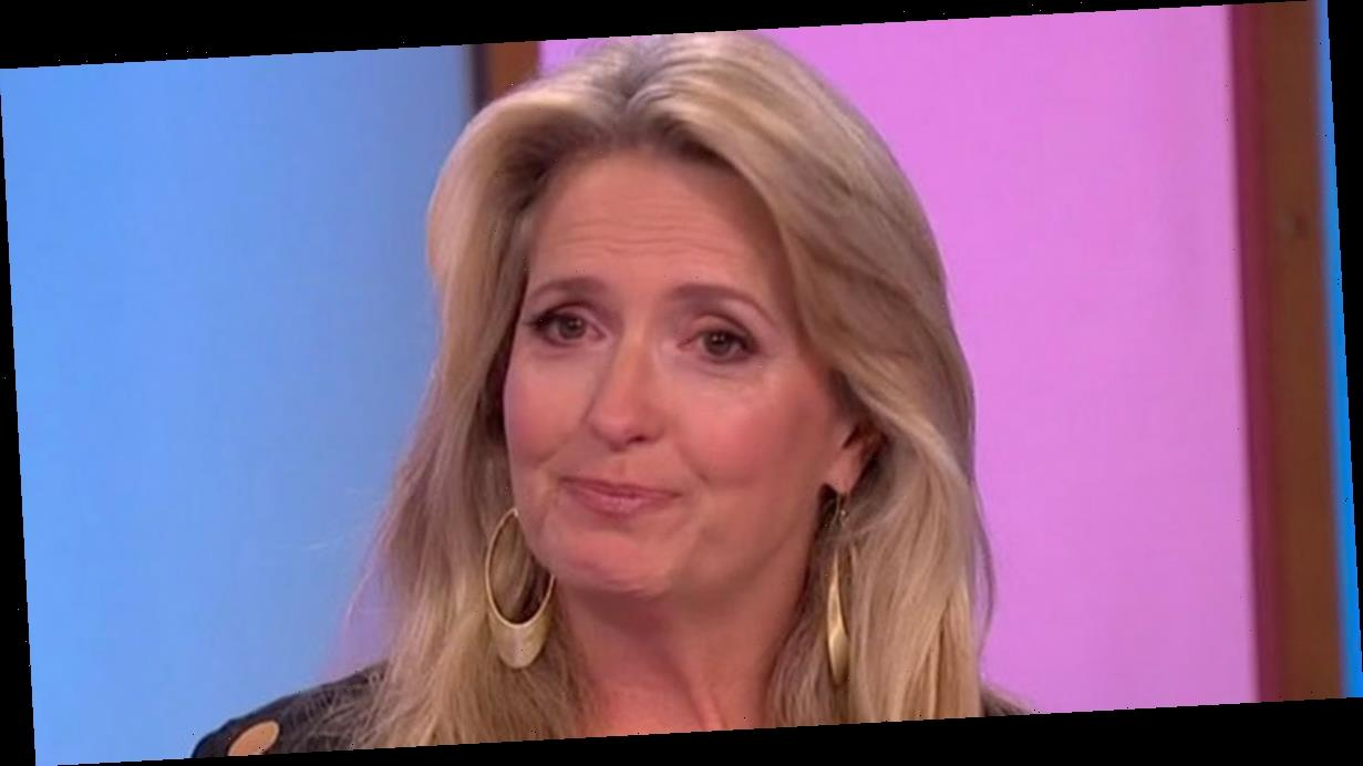 Loose Women's Penny Lancaster cries as she announces Rod Stewart cancer news