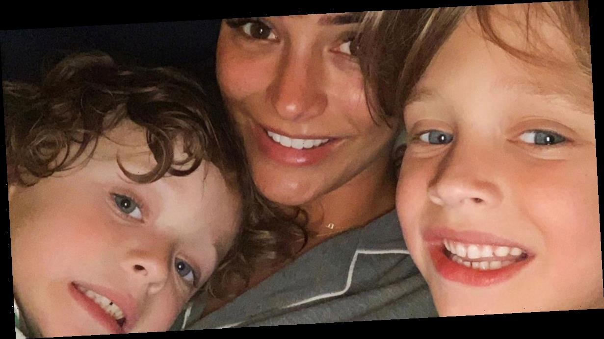 Frankie Bridge's sons taking mental health classes as she opens up on depression battle