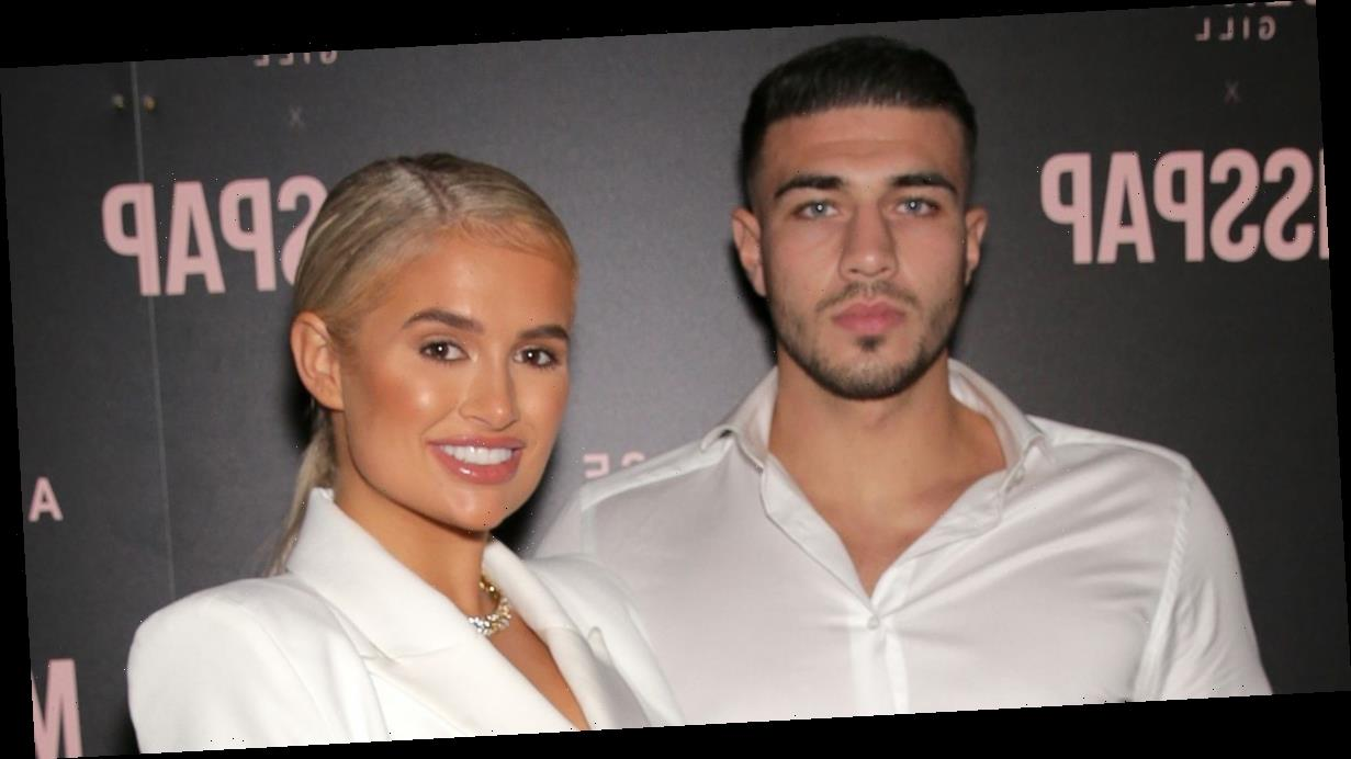 Molly-Mae Hague proudly films Tommy Fury as he makes his debut on the big screen