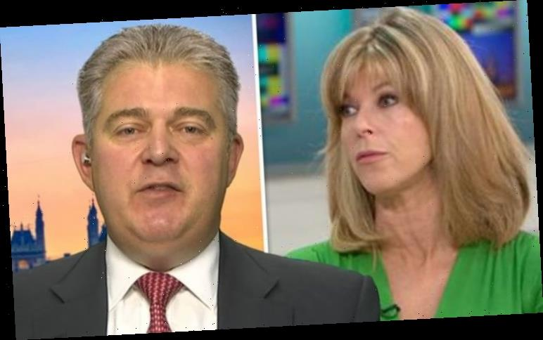 Brandon Lewis shuts down Kate Garraway over Brexit doubts: 'It's time they compromise'