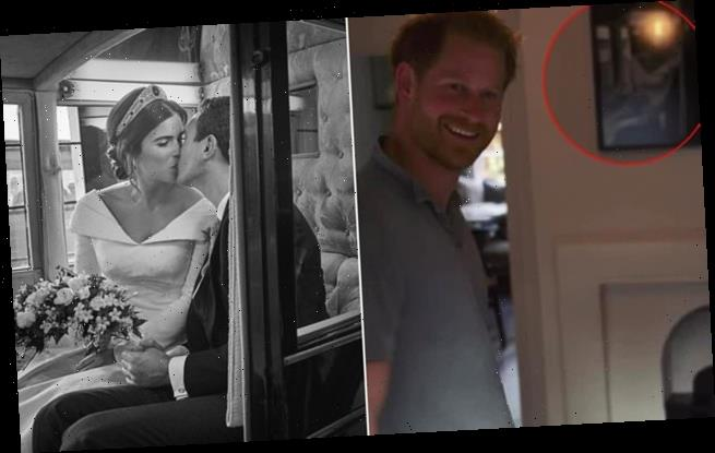Were Prince Harry and Ed Sheeran filming in Princess Eugenie's pad?