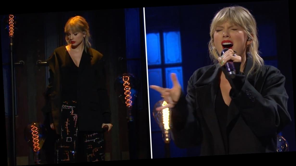 """See Taylor Swift Perform """"False God"""" For the First Time Live on SNL"""