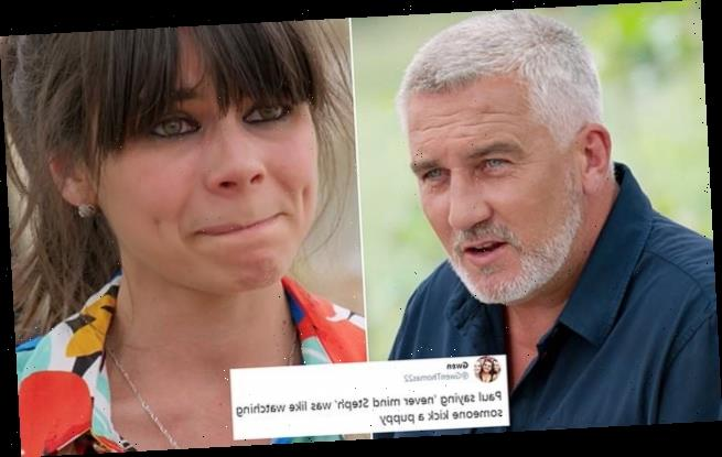 Bake Off fans slam Paul Hollywood's 'brutal' comment to sobbing Steph