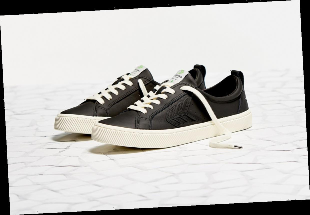 These Trendy Canvas Sneakers Are the Perfect Weekend Staple