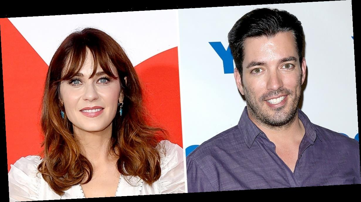 Jonathan Scott, Zooey Deschanel Double Date With His Brother at 'DWTS'
