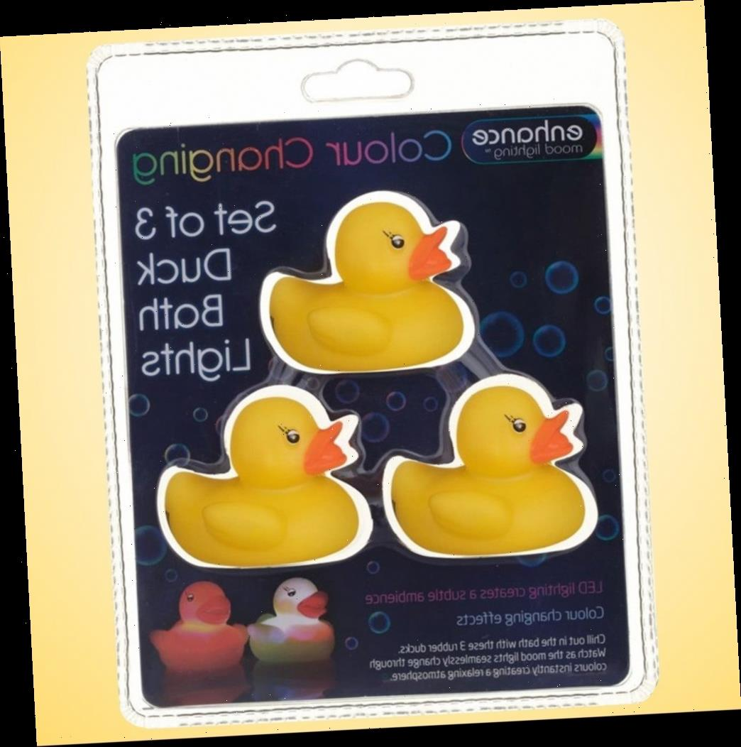 B&M is selling light-up rubber ducks so kids can have a disco in the bath