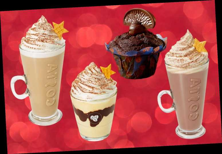 Costa's Christmas 2019 menu includes a new Irish Coffee flavoured range and a Terry's chocolate orange muffin