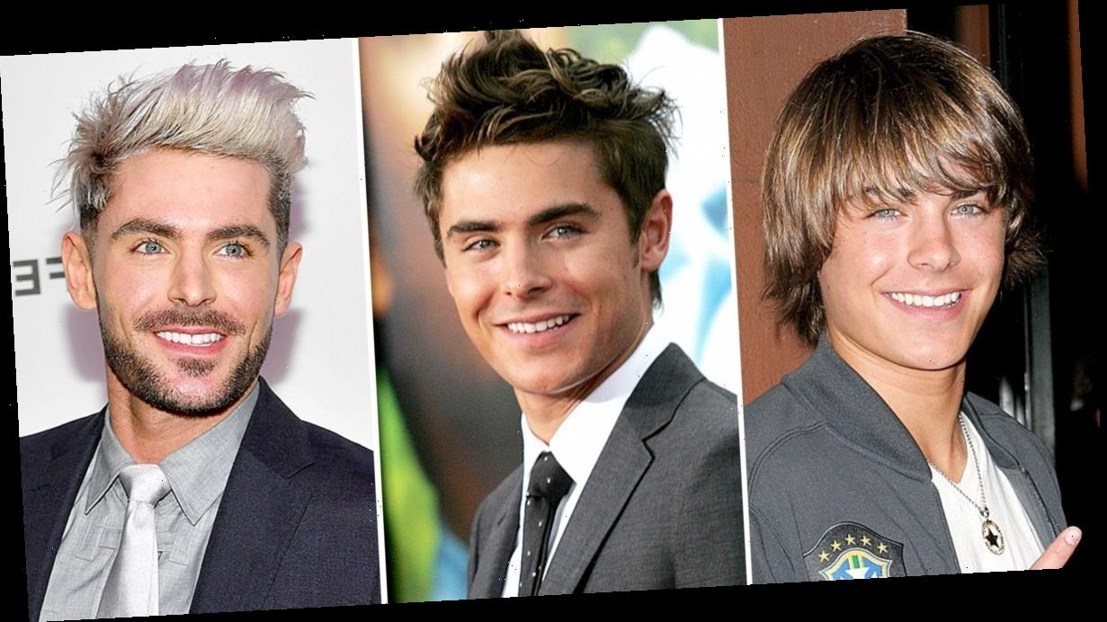 Zac Efron Through the Years