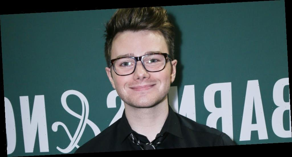 Chris Colfer Was Once Asked To Sign a Baby During a Book Signing
