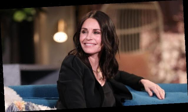 Courteney Cox Had the Most Monica Response to Sara Foster's Friends Costume