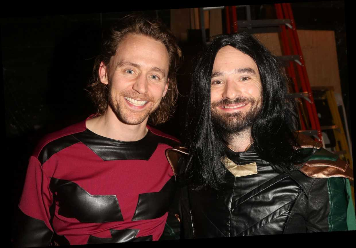 Betrayal's Tom Hiddleston, Charlie Cox swap Marvel roles for Halloween