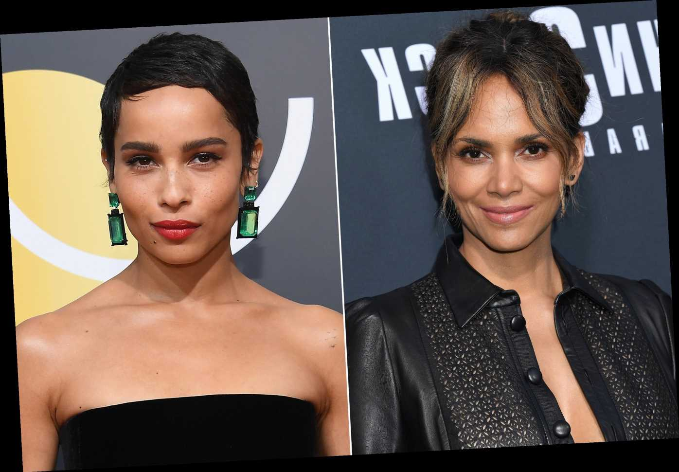 Halle Berry welcomes The Batman star Zoe Kravitz as Catwoman