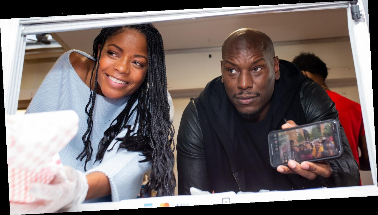 Naomie Harris & Tyrese Gibson Bring 'Black & Blue' To Morehouse College!