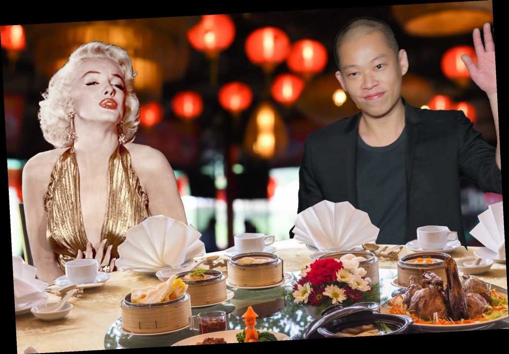 Jason Wu wishes he could cook Chinese food for Marilyn Monroe