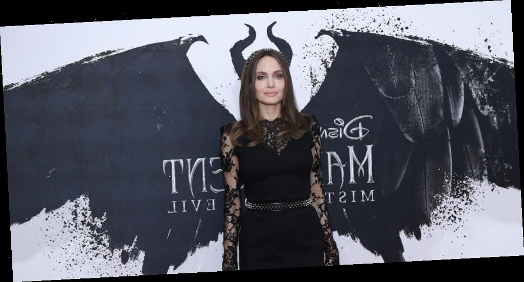 Angelina Jolie Wears Maleficent's Horns Again During 'Mistress of Evil' Photo Call