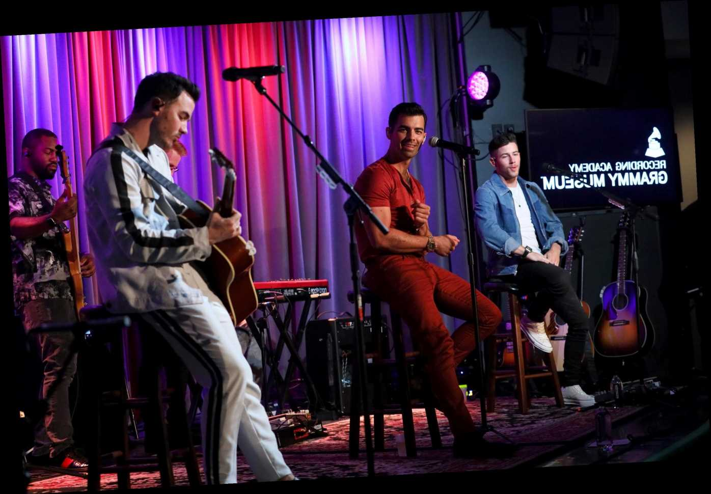 The Jonas Brothers reunited because of college-aged guys on Twitter