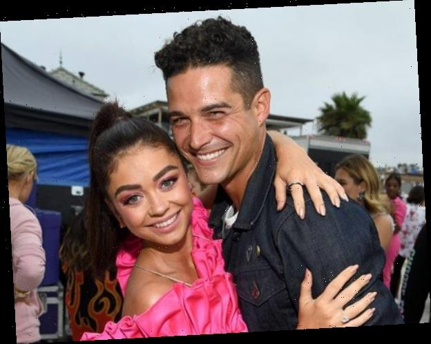 Wells Adams Spills Secrets on Sarah Hyland Engagement Party