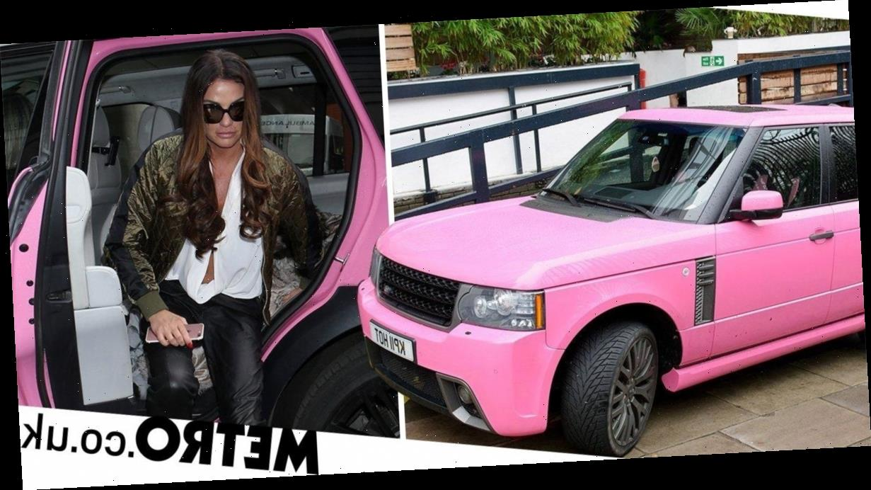 Katie Price given two-year driving ban after Range Rover crash