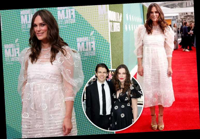 Keira Knightley wows on the red carpet just one month after welcoming second child – The Sun