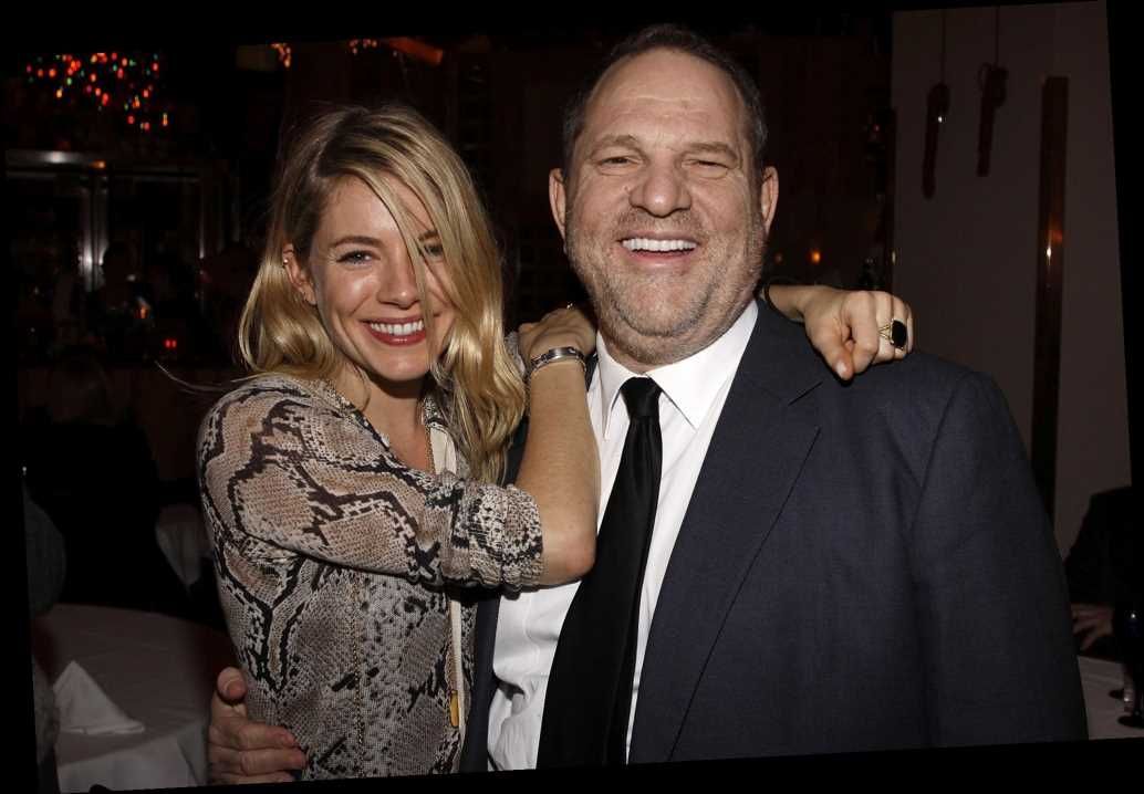 Sienna Miller claims Harvey Weinstein made her cry after partying lecture