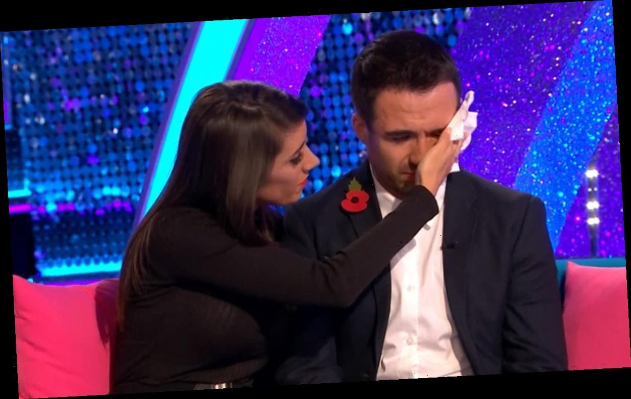 Strictly's Will Bayley and Janette Manrara break down in tears live on TV while discussing their shock exit