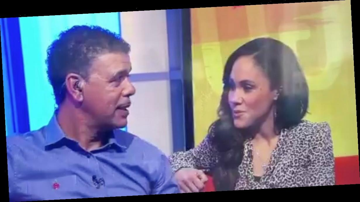 Chris Kamara awkwardly 'lets slip' Strictly result in talks with Alex Scott