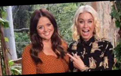 I'm A Celeb's Emily Atack oozes beauty alongside Denise Van Outen