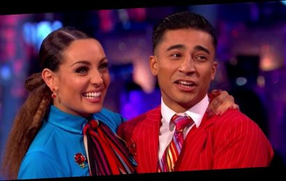 Strictly's Karim Zeroual denies 'curse' rumours with Amy Dowden