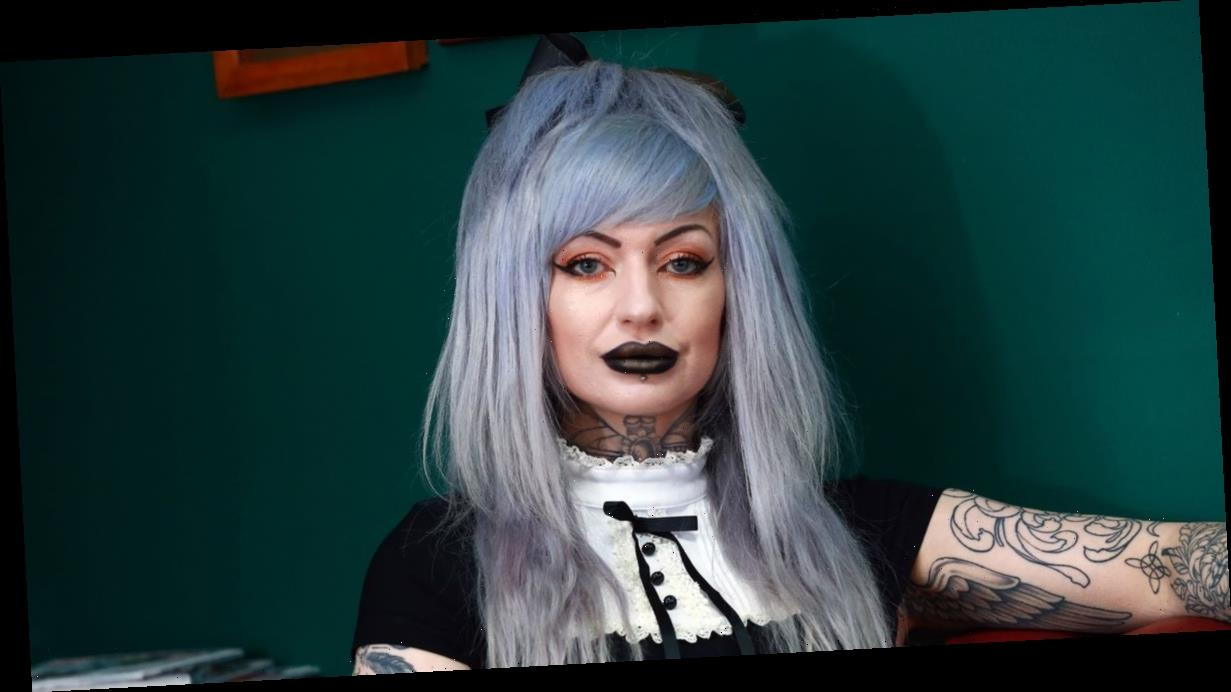 UK's 'most tattooed mum' wants more body art in a bid to be 100% covered in ink