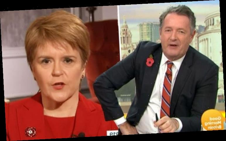 'UK voted to leave' Piers Morgan rips into Sturgeon for relentless referendum re-runs