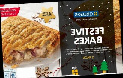 Iceland is selling festive bakes again – and they are cheaper than in Greggs