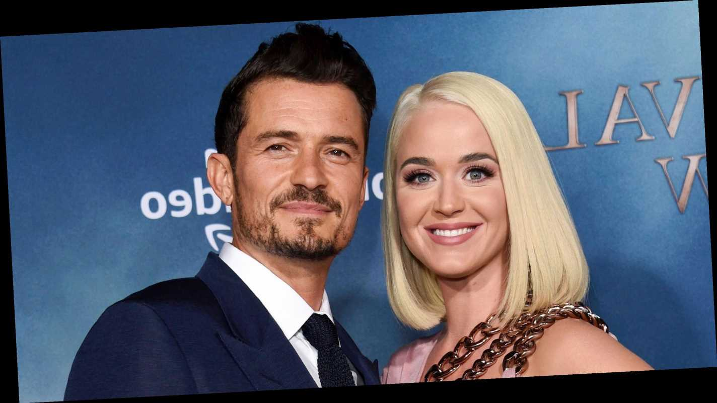 Katy Perry Celebrates 35th Birthday in Egypt With Fiance Orlando Bloom