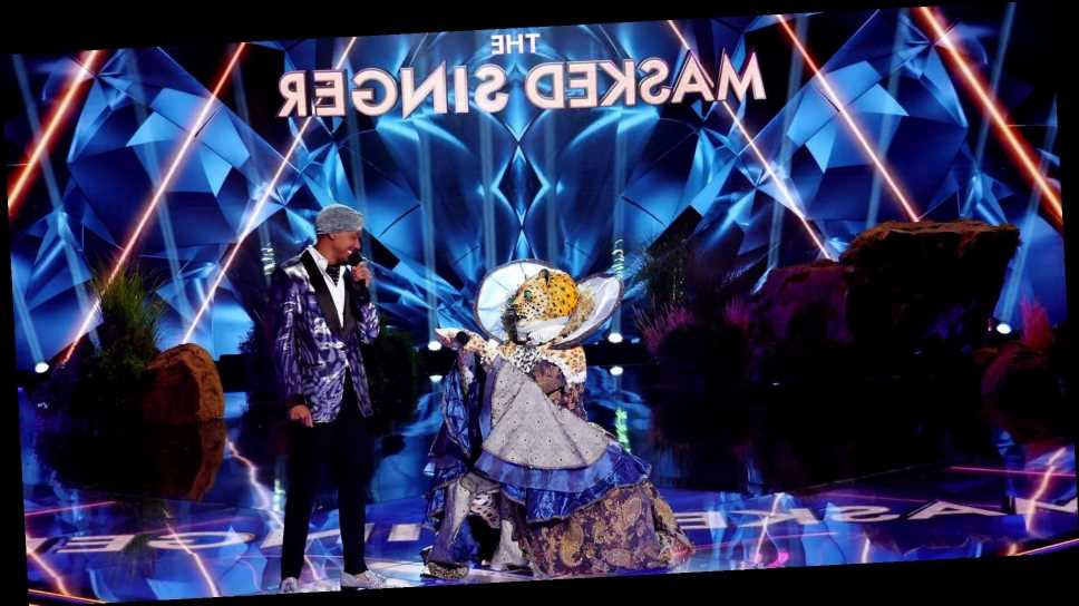 Watch the Leopard Propose to Nick Cannon on 'The Masked Singer'