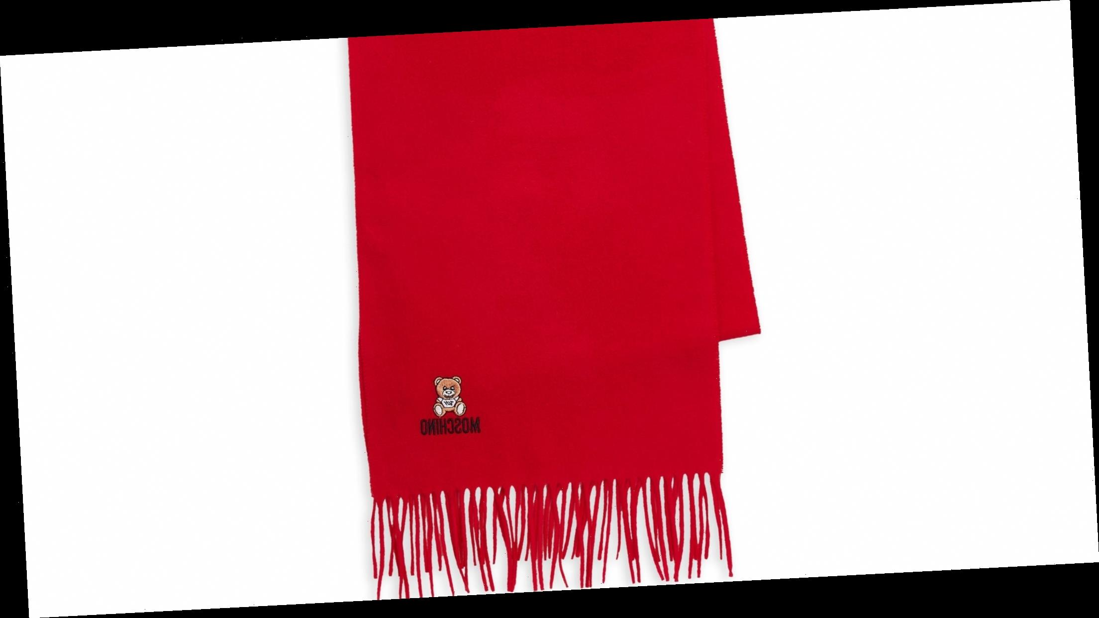 This Trendy Moschino Scarf Is Marked Down Over 70%!