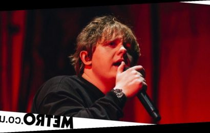 Lewis Capaldi has audience in the palm of his hand despite vocal issues