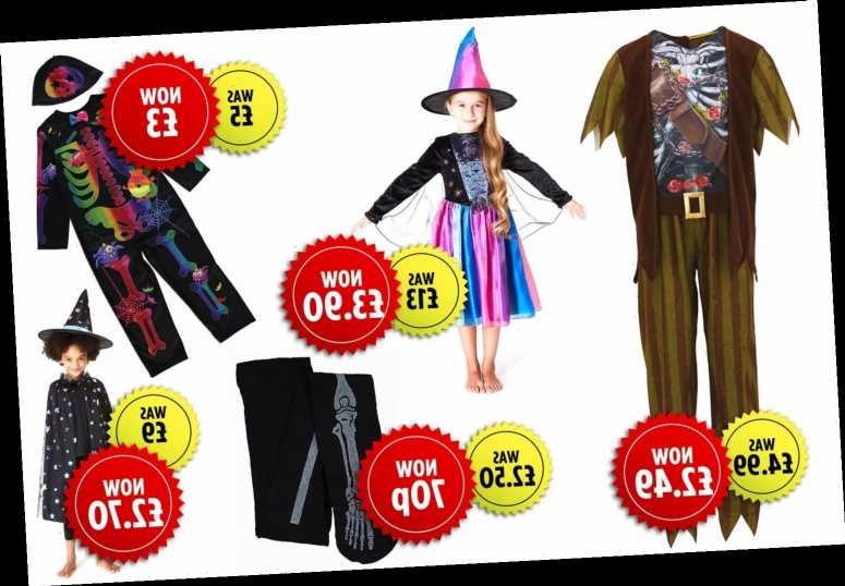 Bargain hunters snap up Halloween costumes for next year from Argos and Sainsbury's as it slashes prices down to 70p – The Sun