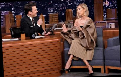Watch Céline Dion finally settle Titanic debate of whether Jack could have fit on that door
