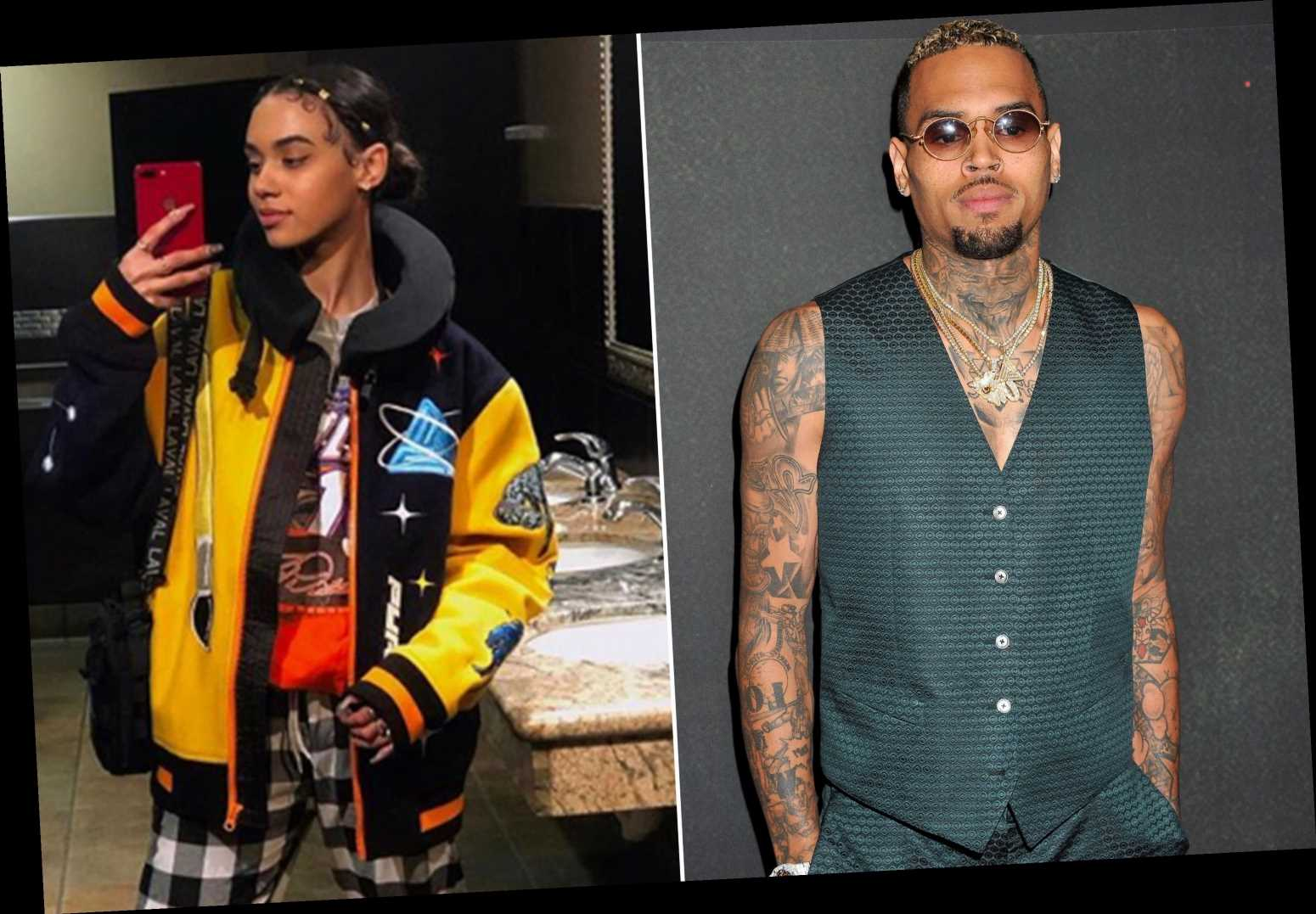 Chris Brown and ex Indyamarie are hooking up again
