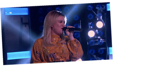 "Watch Out, Joe Jonas — Kelly Clarkson Totally Nailed Her ""Cake by the Ocean"" Cover"