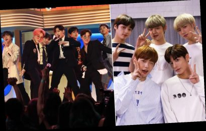 """This Video Of TXT Performing BTS' """"Boy In Luv"""" & """"Dope"""" Is Fire"""