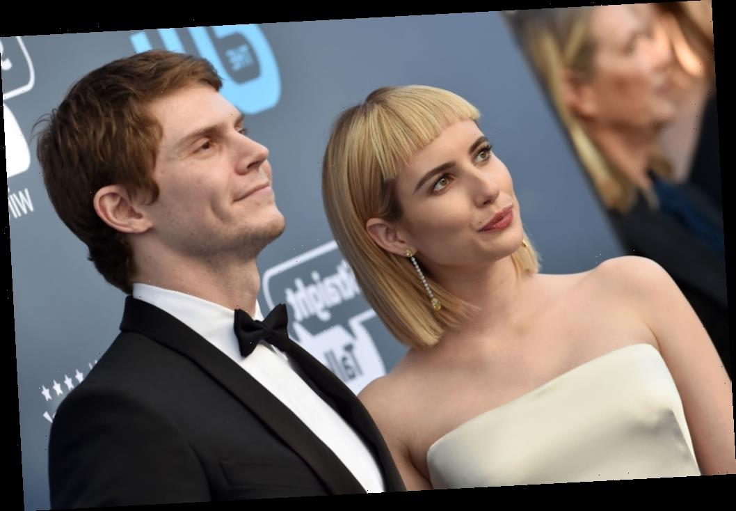 Do Exes Evan Peters And Emma Roberts Get Along?