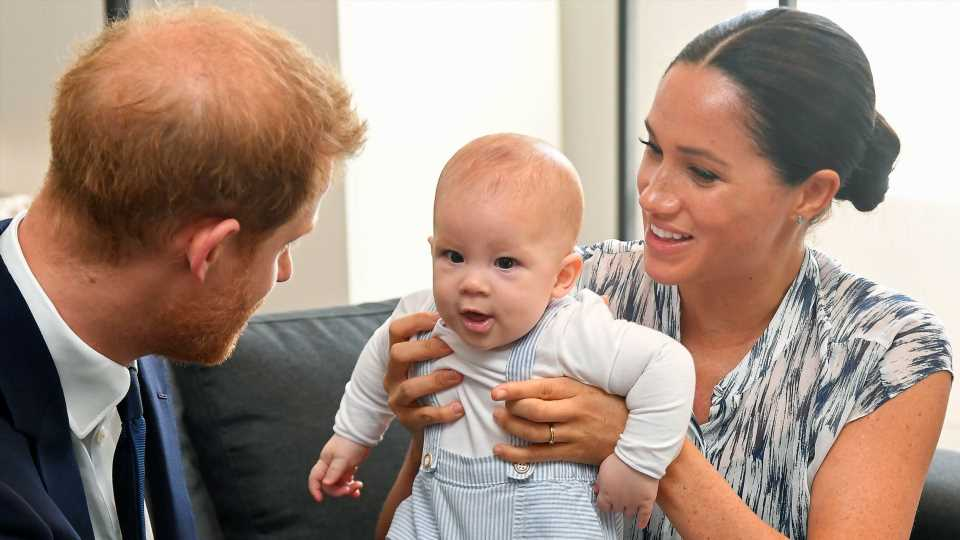 Baby Archie Is Already Trying to Speak, Says a Royal Source
