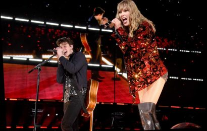 Taylor Swift records Lover remix with Shawn Mendes