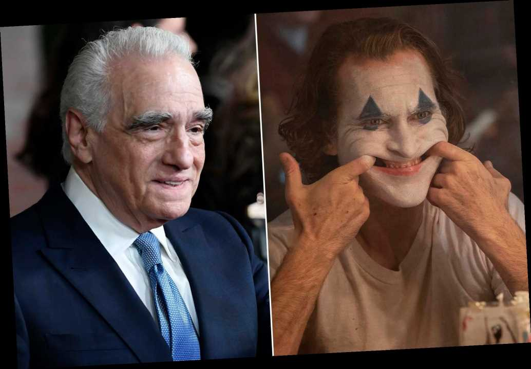 Martin Scorsese: I considered 'Joker' but 'didn't have the time'