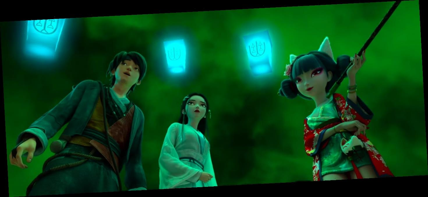 'White Snake' Exclusive Clip: Magic Shops Take on a New Meaning in GKIDs' First Chinese Animated Movie