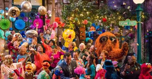 What's on TV Saturday: 'Sesame Street' and 'Let It Snow'